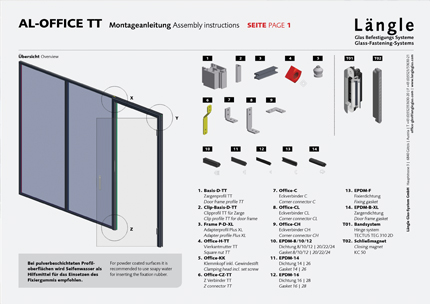 Assembly Instructions AL-Office TT