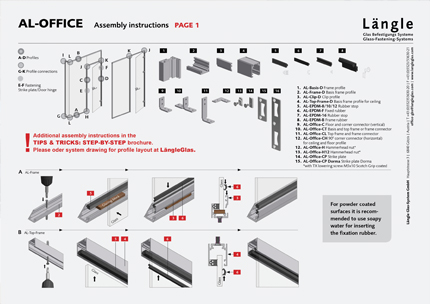 Assembly Instructions AL-Office