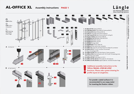 Assembly Instructions AL-Office XL